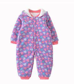 c06e2897ca0b Tueenhuge Baby Winter Romper Hooded Puffer Zipper Snowsuit Down ...