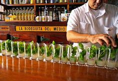 Mojitos the way they should be made