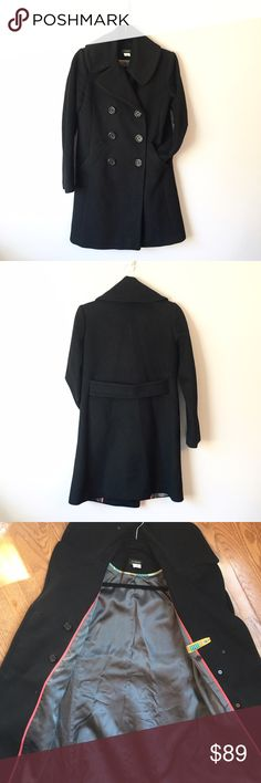 FLASH SALE! Ends @ midnight J. Crew 100% Wool Coat FLASH SALE! PRICE WILL GO BACK UP AFTER MIDNIGHT! This classic, black J. Crew, 100% Wool Coat is beautiful and extremely warm. The two front pockets are intuitively positioned. It's in great condition. Reasonable offers welcome and don't forget to bundle for a discount!   Xoxo -J J. Crew Jackets & Coats