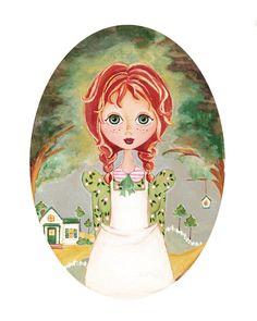 Anne Of Green Gables. $16.00, via Etsy.
