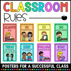 Classroom Rules by Keeping it Captivating Classroom Expectations Poster, Classroom Rules Poster, Classroom Welcome, Classroom Bulletin Boards, Classroom Ideas, Kindergarten Classroom Rules, Child Guidance, Alphabet Phonics, Birthday Charts
