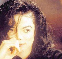 MJ looking pensive