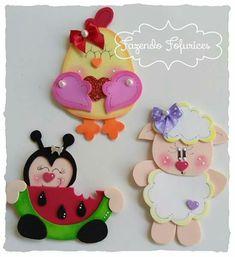 Foam Sheet Crafts, Foam Crafts, Diy And Crafts, Crafts For Kids, Arts And Crafts, Paper Crafts, Doll Face Paint, Diy Magnets, Foam Sheets