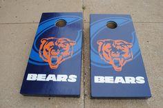Da Bears!  Custom Cornhole game board