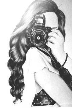 haa thik ha i was talking about the kissing picture Camera Drawing, Camera Art, Girl Drawing Sketches, Girly Drawings, Drawing Drawing, Studio Photography Poses, Dark Photography, Amazing Drawings, Beautiful Drawings