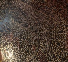 wood mosaic floors...by The Phoenix Commotion.