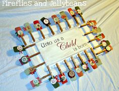 clothes pins advent