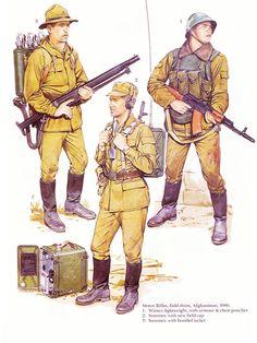 igorusha: Soviet Army uniforms, 1980s |