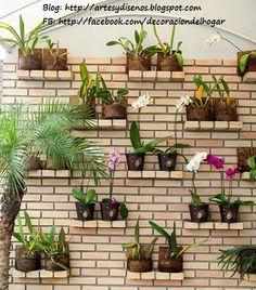 ideas para decorar un jardn vertical by