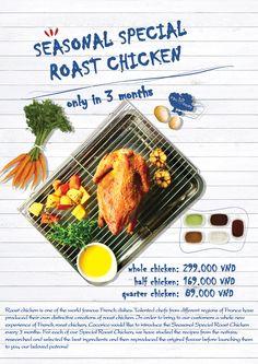 Seasonal Special Roast Chicken Gà nướng đặc biệt theo mùa