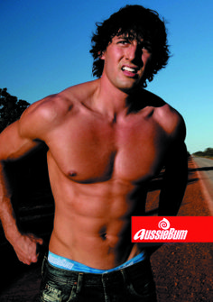 Tim Robards for Aussiebum (2009) #TimRobards #Australian #malemodel #model #fitness #fitnessmodel #Aussiebum #ChadwickModels #TheBachelor #hitchhike #hitchhiker #desert