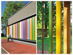 Jardim de infância - Jure Arhitektura Kotnik #colors