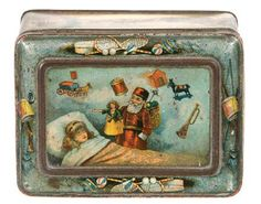 Dunmore and Son Biscuit Co, Christmas tin