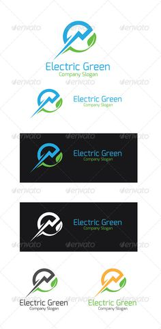 Electric Green - Logo Design Template Vector #logotype Download it here: http://graphicriver.net/item/electric-green/5471442?s_rank=423?ref=nexion