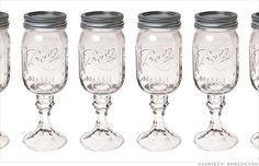 Redneck Wine Glass-  good for wine or sweet tea as any Southern girl knows ;)