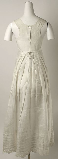 Petticoat  Date:early 19th century