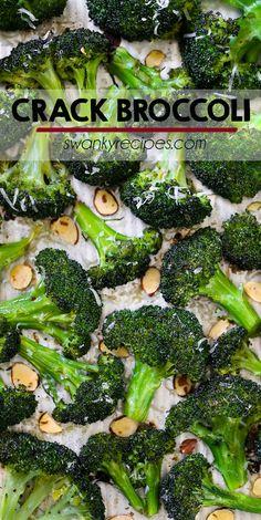 Crack Broccoli {The Best Roasted Broccoli}