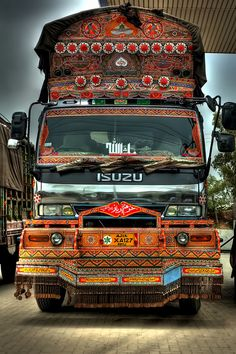 Decorated Truck from Pakistan