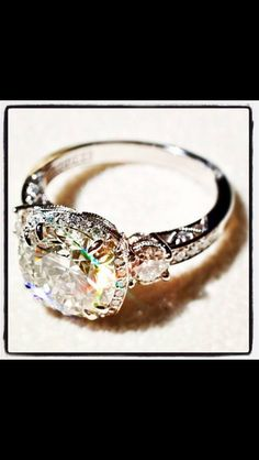 This is my ring....I want this it is so pretty! Would need a a little bit of asmaller stone for everyday wear