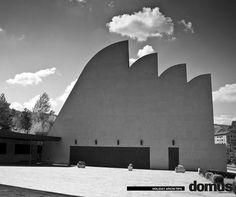 Alvar Aalto, 1975 -1980, Chiesa di Santa Maria Assunta, Riola di Vergato, Italia