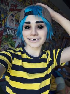Gorillaz costume   Criedwolves.tumblr.com