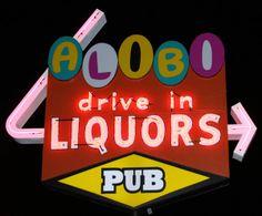 Drive up liquor stores Laramie, Wyoming Laramie Wyoming, Nightlife, Liquor, The Past, National Parks, Neon Signs, Activities, History, Alcohol