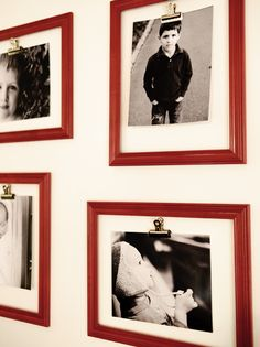 Neat idea for displaying photos.