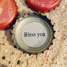Bless you. #craftbeer #saintarnold