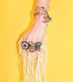 Filha de brasileiro a designer @nadineghosnjewelry está despontando como um talento da joalheria internacional. O motivo? Suas joias bem-humoradas e originais que imitam hambúrgueres sushis e até um abridor de lata entre outros objetos inusitados. Saiba mais sobre as curiosas peças em vogue.com.br. #moda  via VOGUE BRASIL MAGAZINE OFFICIAL INSTAGRAM - Fashion Campaigns  Haute Couture  Advertising  Editorial Photography  Magazine Cover Designs  Supermodels  Runway Models