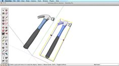 SketchUp Training Series: Mirroring objects