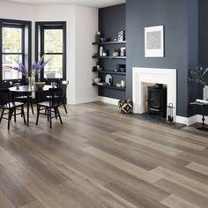 grey wood floors Washed Grey Ash Karndean Design F - flooring Ash Wood Floor, Grey Wood Floors, Wood Tile Floors, Dark Walnut Floors, Timber Tiles, Grey Walls, Ash Flooring, Natural Wood Flooring, Home Flooring