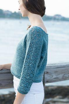 Ravelry: Mazarine Pullover pattern by Cecily Glowik MacDonald