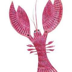 paper plate lobster