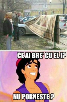 Cred că e stricat... Funny Disney Pictures, Funny Images, Love Memes, Best Memes, Super Funny, Really Funny, Meme Gen, Funny Texts, Funny Jokes