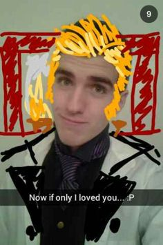 Funny Disney Frozen Hans snapchat. I feel like if a guy broke up with me like this I'd be to busy laughing to be mad haha