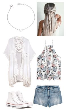 """Summer days"" by morganmaccc on Polyvore featuring Madewell and Converse"