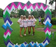 Phi Mu - good idea for Bid Day or other events