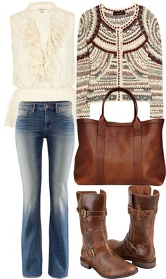 """""""Jean outfit kinda"""" by fortunecookie608 ❤ liked on Polyvore"""
