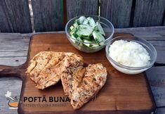 Piept de pui pe gratar (reteta clasica, simpla) Grilling Recipes, Pork, Chicken, Meat, Youtube, Kale Stir Fry, Pigs, Baking Recipes, Barbecue Recipes
