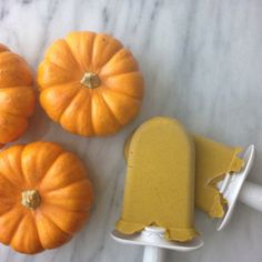 Pumpkin Pie Popsicles for zoku {gluten Free, dairy free, refined sugar free, paleo, delicious}   \(^o^)/