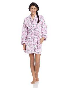 2ba172282 Industries Needs — Hello Kitty Women's Plush Hour Burnout PW Kimono...  Medium,