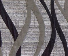 Black Strokes MO Fabric By The Yard Curtain Fabric by FabricMart
