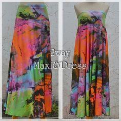 *New arrival*2WAY★psyche colors maxi - ★naturaleeza★-遊び着いっぱい◎ヒッピー・エスニック・レイブファッション- #fashion #onlinestore #naturaleeza #gypsy #favefashion