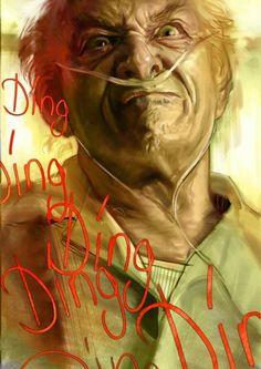 Breaking Bad - Hector Salamanca by Massimo Carnevale