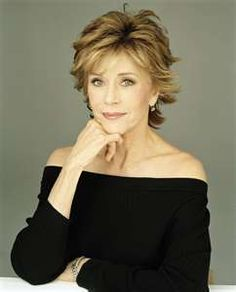 Jane Fonda, actress, exercise enthusist, activist, controversial, daughter of a legend.