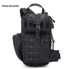 61ca9a2a5082 [ $55.86 - 61.56 ] FREE SOLDIER outdoor camping&hiking backpack tactical  bag Daily causal light men's
