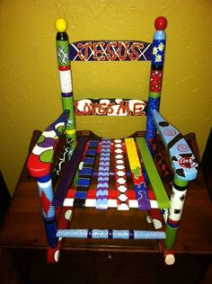 Images Of Hand Painted Childrens Chairs | Kids Go Round Coupons From  PinPoint PERKS | Hand Painted Childrens Chairs | Pinterest | Paint Furniture,  ...