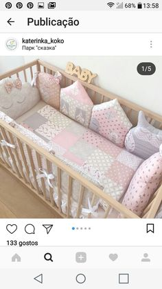 Things To Do Immediately About Baby Boy And Girl Nurse Baby Crib Bedding, Baby Bedroom, Baby Room Decor, Baby Patchwork Quilt, Baby Quilts, Baby Nest Bed, Cot Sheets, Crib Sets, Cool Baby Stuff