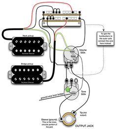 telecaster wiring diagram humbucker single coil learn guitar rh pinterest com wiring diagram humbucker wiring diagram humbucker pickup