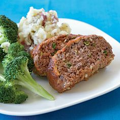 Quick Meat Loaf | MyRecipes.com #protein #myplate